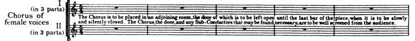 Choruses in Neptune
